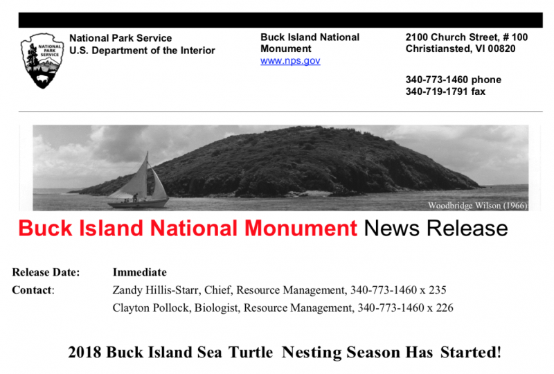 NPS press release screenshot